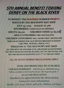 5th Annual Benefit Fishing Derby