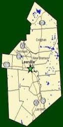 Lewis County Google Map